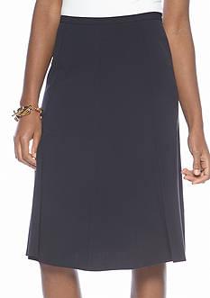 Kim Rogers Pleated Gored Skirt