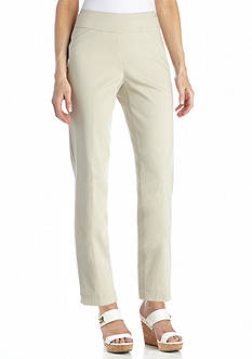 Kim Rogers Pull-On Comfort Waist Tech Stretch Crop Pant