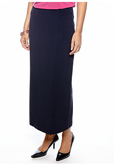 Kim Rogers® Long Slim Skirt