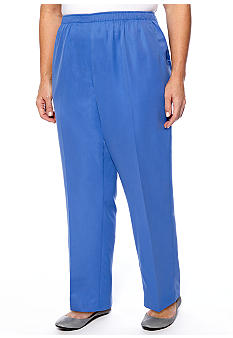 Kim Rogers Plus Size Microfiber Pant Average Inseam