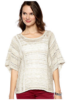 New Directions Oversized Square Sweater