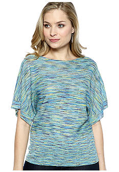 New Directions Pull Over Ombre Shiny Dolman