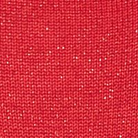 Belk Designer Sweaters for Women: Radiant Red New Directions Shimmer Circle Cardigan