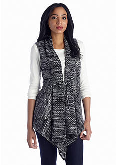 New Directions® Marled Drapey Vest