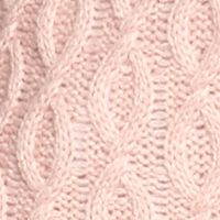 New Directions Women Sale: Love Pink New Directions Fringe Cowl Neck Cable Tunic Sweater