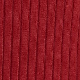 Sweaters for Women: V-neck: Cranberry Ruse New Directions Ribbed Lace Up Sweater