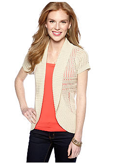 New Directions Pointelle Cardigan