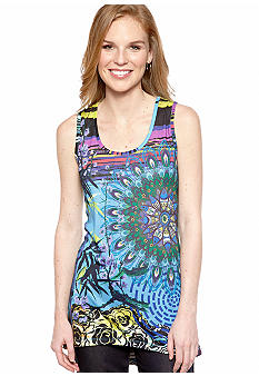 New Directions Mystic Dreams High Low Tank