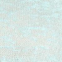 Women: New Directions Tops: Breezy Aqua New Directions Lace Trim Tie Front Top