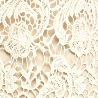 Sleeveless Shirts For Women: Natural Cream New Directions Lace Swing Tank