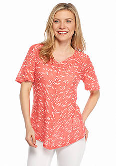 New Directions Petite Knit Top