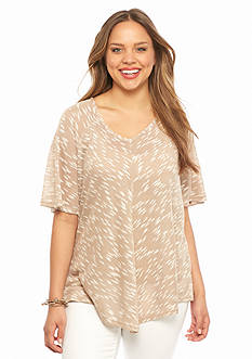 New Directions Plus Size Knit Top