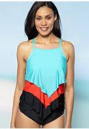 Athena Heavenly High Neck Tankini