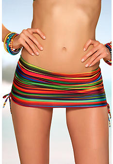 Becca South Of The Border Skirted Swim Bottom