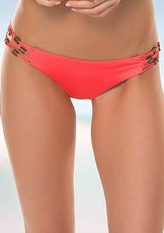 Becca Wild And Free Basic Hipster Swim Bottom
