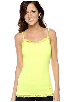Red Camel Favorite Fit Neon Lace Cami