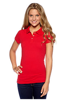 Red Camel Polo Top