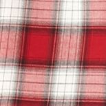 Juniors: Red Camel Dresses: Red Plaid Red Camel Plaid Shirtdress