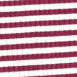 Knit Tops For Juniors: Pink Red Camel Striped Rib Knit Top