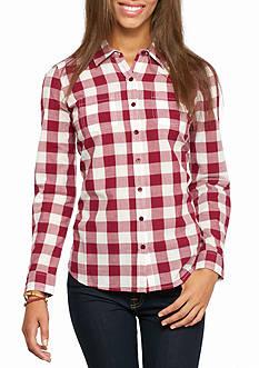 Red Camel Basic Plaid Shirt