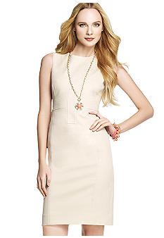 Anne Klein Crew Neck Sheath Dress