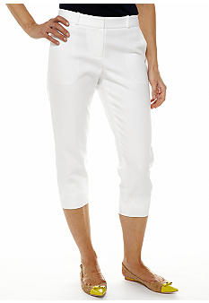 Anne Klein Slim Leg Crop Pants