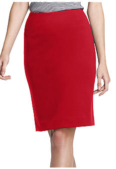 Anne Klein Ponte Pencil Skirt