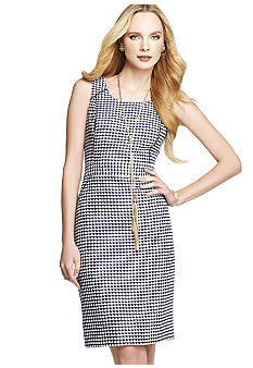Anne Klein Tweed Sheath Dress