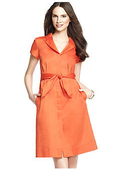 Anne Klein Short Sleeve Wrap Dress