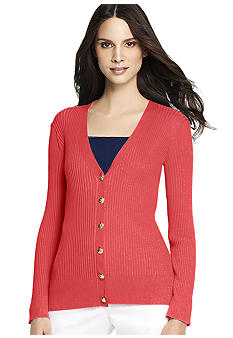 Anne Klein V-Neck Cardigan