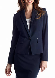 Anne Klein Single-Breasted Jacket