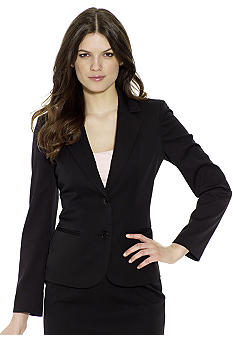 Anne Klein 2 Button Short Jacket