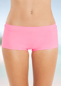 Malibu Dream Girl Beach Club Solid Shorts