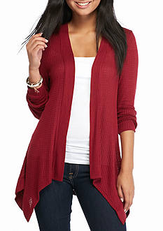 Love Always Waffle Stitch Cardigan