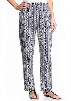 Kim Rogers Printed Soft Pants
