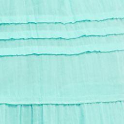 Kim Rogers Women Sale: Aqua Mint Kim Rogers Solid Tiered Skirt