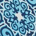 Kim Rogers Women Sale: Blue Combo Kim Rogers Printed Chiffon Kimono 2Fer Top