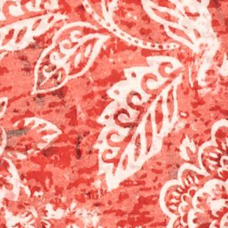 Kim Rogers Petites Sale: Cherry Kim Rogers Petite Printed Burnout Tee