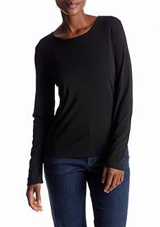 Eileen Fisher Jersey Long Sleeve Essential Top