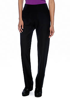 Eileen Fisher Petite Straight Pants With Yoke