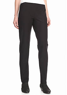 Eileen Fisher Solid Slim Pants