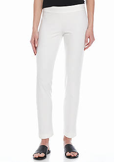 Eileen Fisher Slim Ankle Elastic Yoke Pants