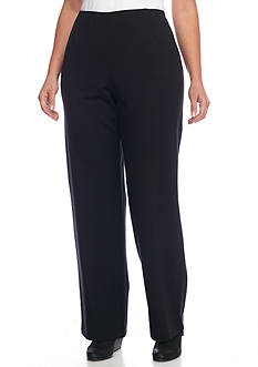 Eileen Fisher Plus Size Straight Leg Ponte Pant