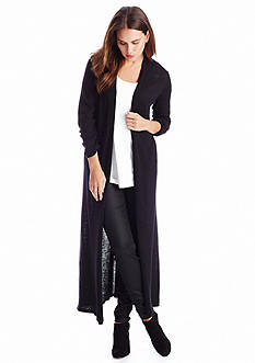 Eileen Fisher Long Blended Wool Cardigan