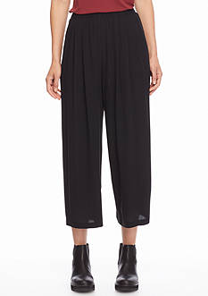 Eileen Fisher Wide Leg Ankle Pants