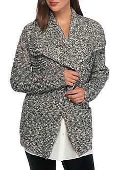 Eileen Fisher Drape Front Long Cardigan