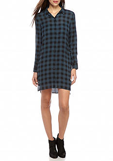 Eileen Fisher Classic Collar Shirt Dress