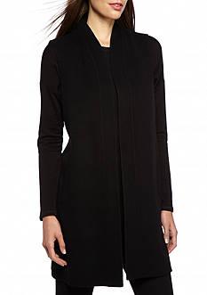 Eileen Fisher Solid Long Vest