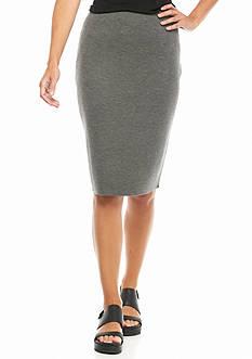 Eileen Fisher Knee Length Knit Skirt