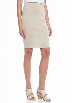 Eileen Fisher Knee Length Knit Skirt